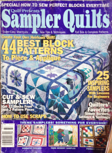 Sampler Quilts 2000 | ReannaLily Designs | Published