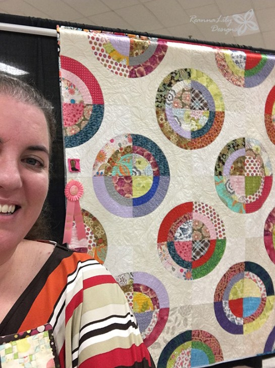 Scrappy Circles by Jen Eskridge | ReannaLily Designs | ReannaLily Quilts