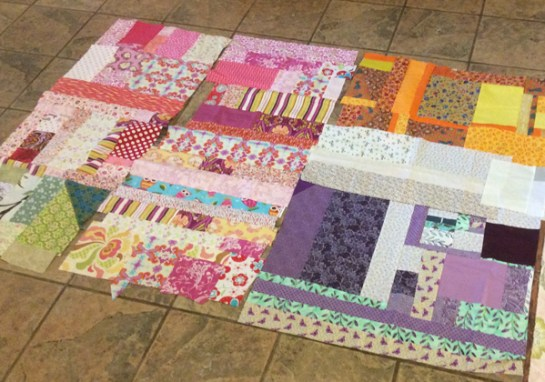 Scappy Quilt Top | ReannaLily Designs
