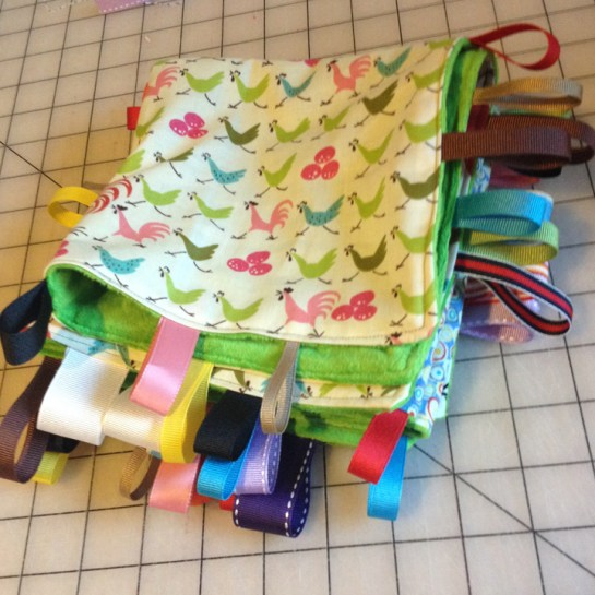 Taggy Blanket | ReannaLily Designs