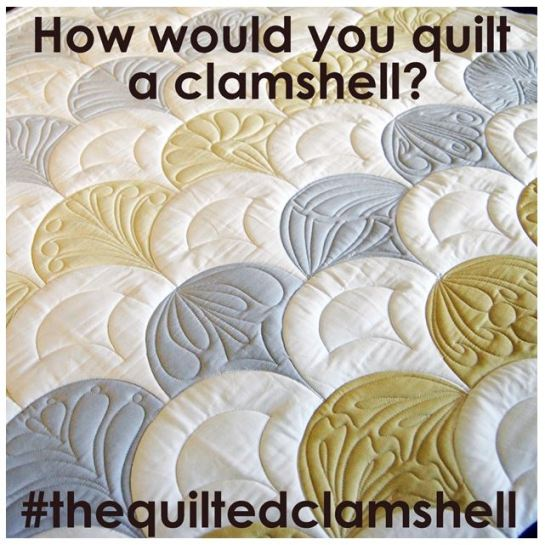 The Quilted Clamshell | Instagram | Jen Eskridge | ReannaLily Designs | ReannaLily Quilts