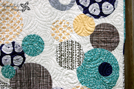 The Random Circle Quilt Workshop by Jen Eskridge
