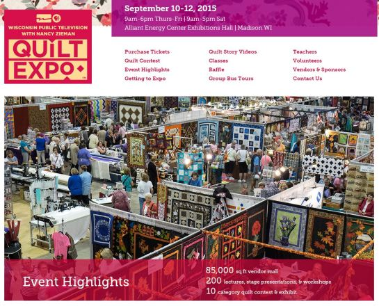 Wisconsin Quilt Expo Website
