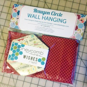 Wishes Kit Fabrics | Hexagons Made Easy | ReannaLily Designs