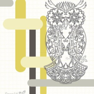 Ultimate Owl Cheater Quilt Panel | Jen Eskridge | ReannaLily Designs