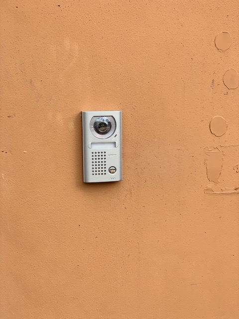 System on wall