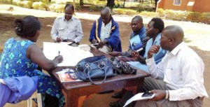 Photo of Group Discussion at Natural Medicines Workshop.