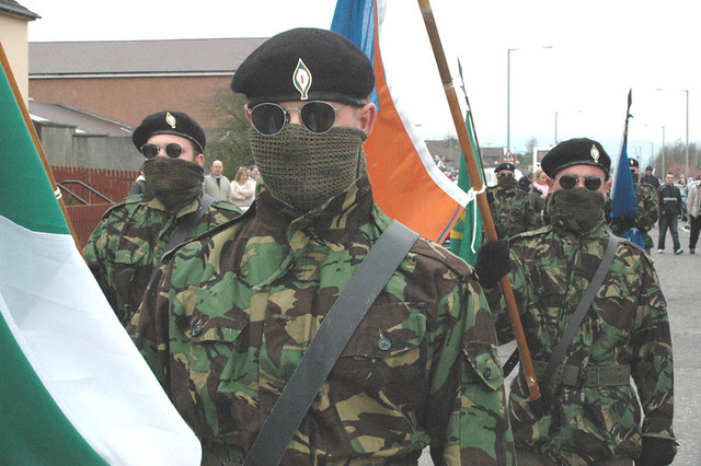 IRA Parade the troubles