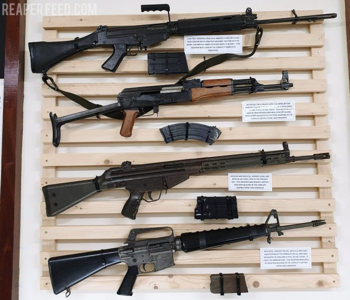 IRA weapons and tactics