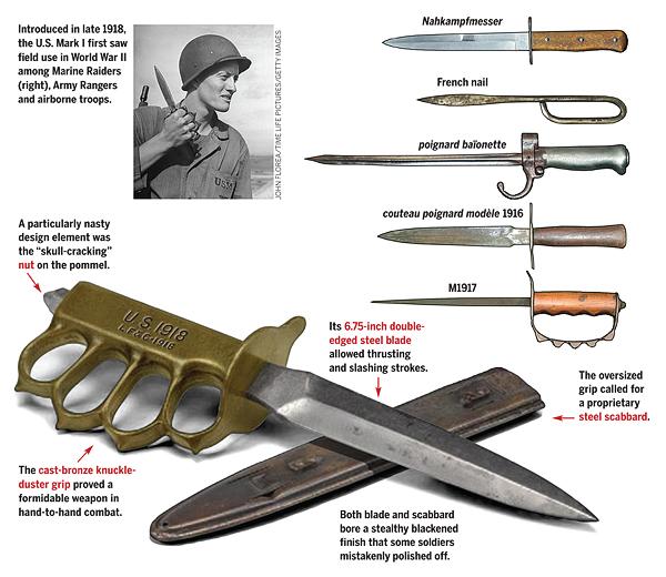 bRASS KNUCKLE KNIFE