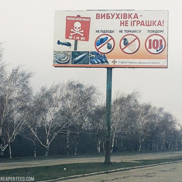 Gopro footage Ukraine