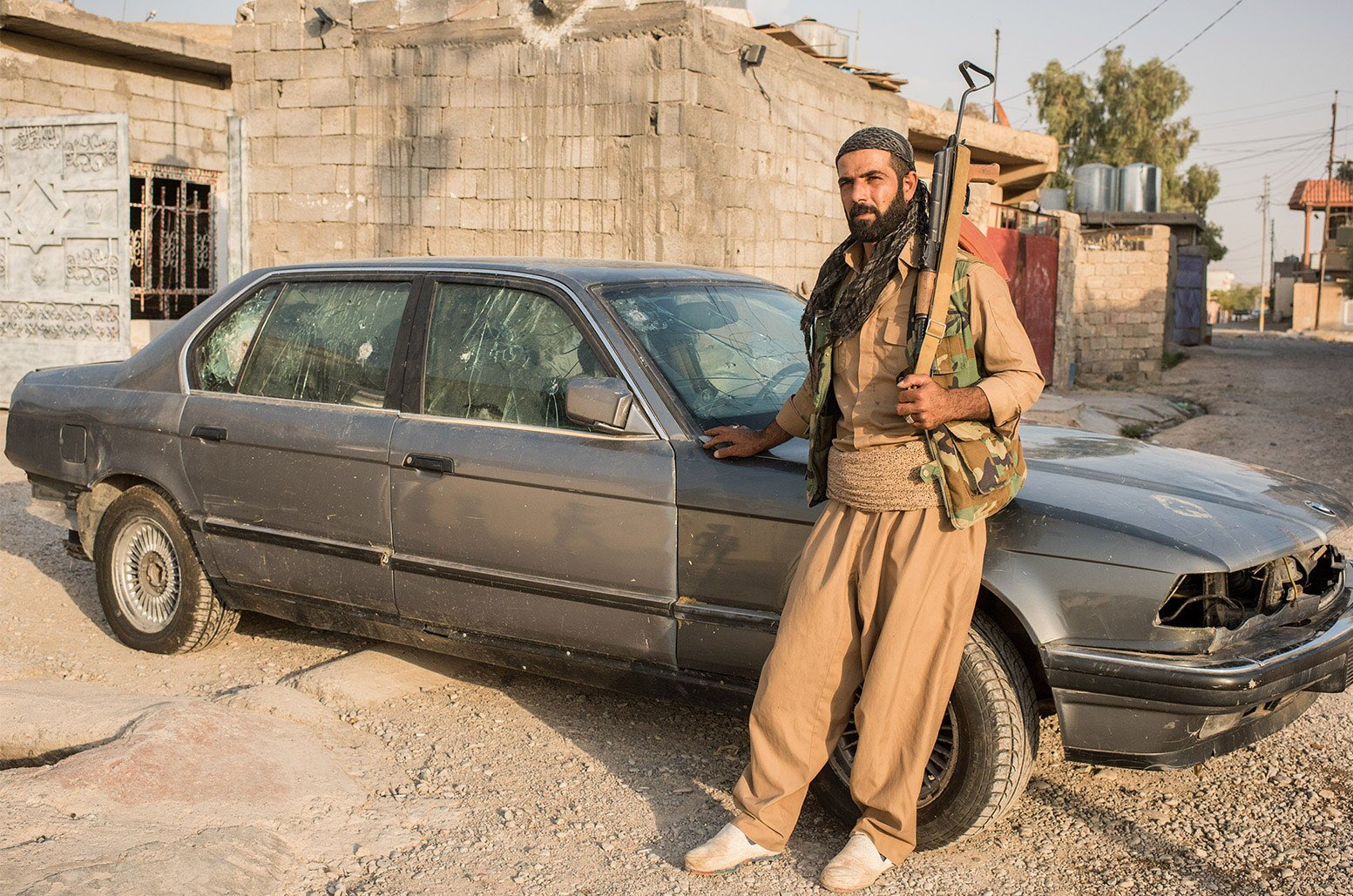 A Peshmerga Fighter Fought ISIS in a Bulletproof BMW » Reaper Feed
