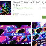 Stylish LED Keyboard