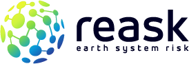Reask Earth System Risk Catastrophe Risk Modelling and Forecasting Logo