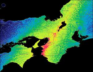 Typhoon Jebi Metryc Footprint