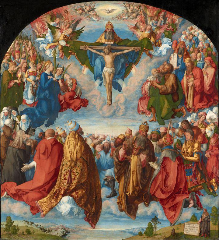 Albrecht Dürer, Adoration of the Trinity (Landauer Altar)