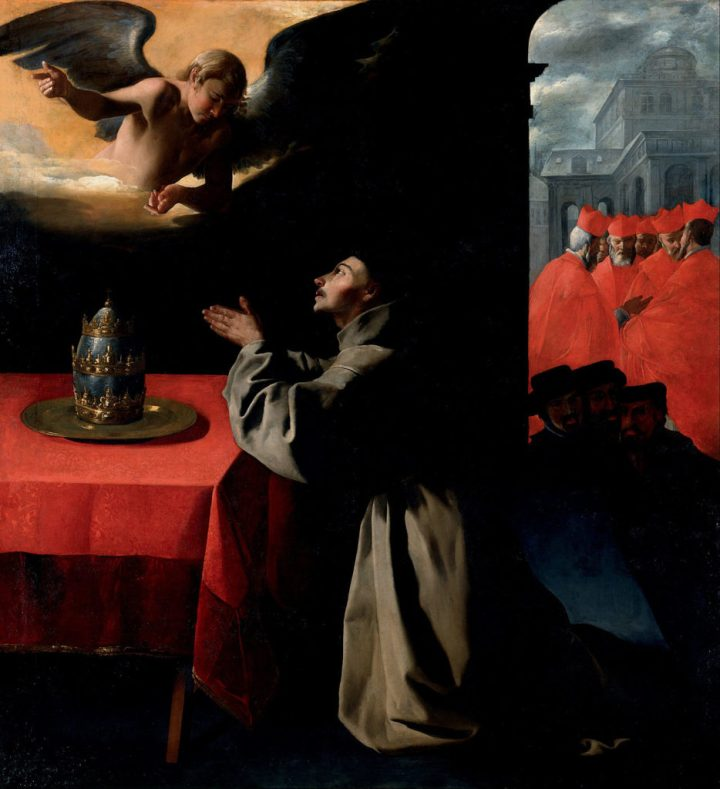 Francisco_de_Zurbarán_-_The_Prayer_of_St._Bonaventura_about_the_Selection_of_the_New_Pope_-_Google_Art_Project-934x1024