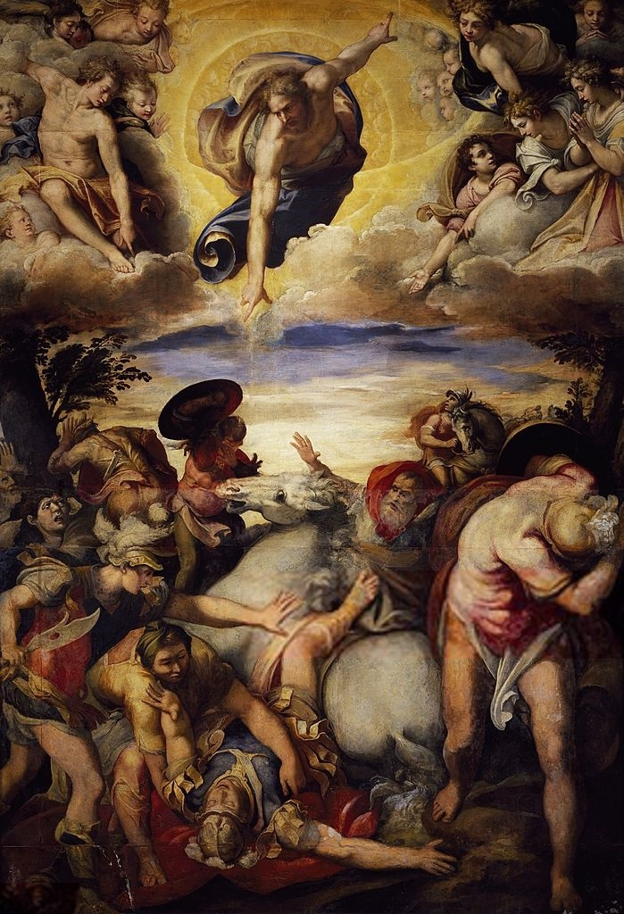 Taddeo_Zuccari,_Conversione_di_san_Paolo,_San_Marcello_al_Corso,_1564–1566