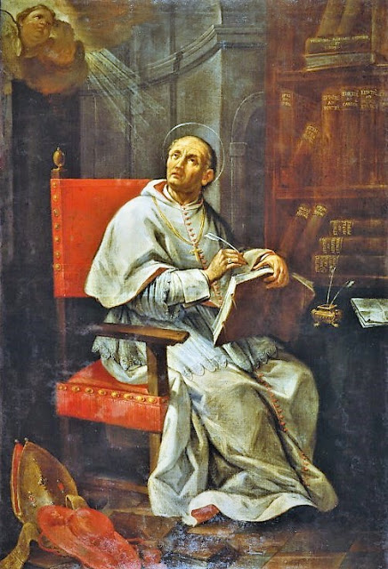 1750_Andrea Barbiani, St. Peter Damian_Italian, 18th Century (d. 1779)_Classense, Town Library