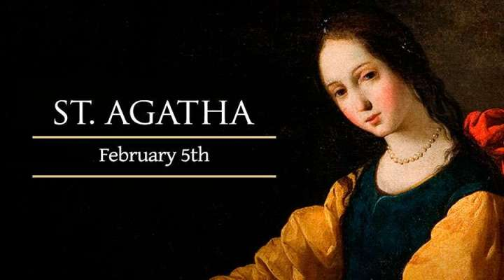 Feb. 5 - St. Agatha new