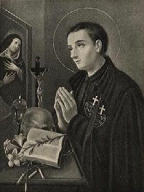 st gabriel possenti crucifix