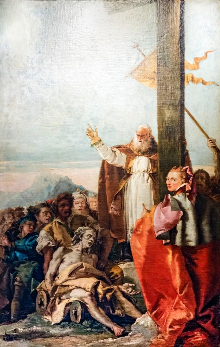 Chiesa_di_San_Polo_(Venice)_-_Oratorio_del_Crocifisso_-_Saints_Helena_and_Macarius_by_Giandomenico_Tiepolo