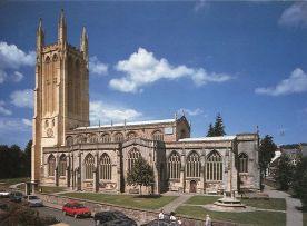St. Cuthbert Church in Wells