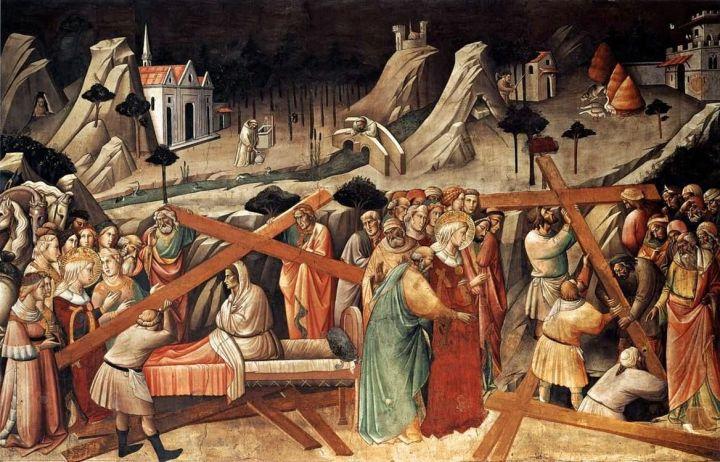 aiding st helena identify true cross