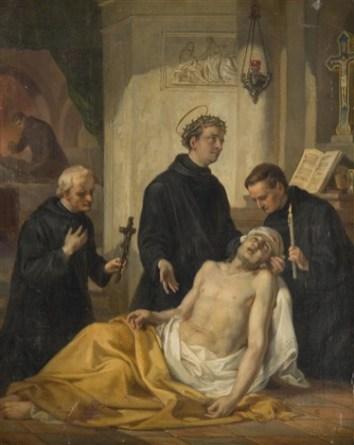 St. John of God Bending over the Sick , 1867