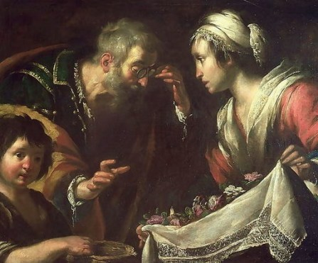 Miracle of Saint Zita by Bernardo Strozzi, 17th c