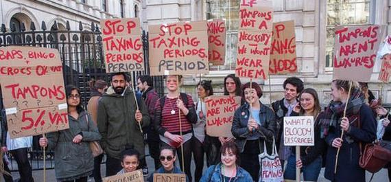 No use in tampering with the tampon tax