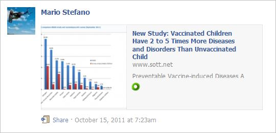 Stefano 6 unvaxed healthier than vaxed German homeopath