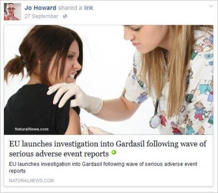 Howard 28 Gardasil