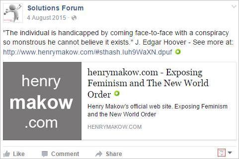 SF 2 Makow feminism NWO