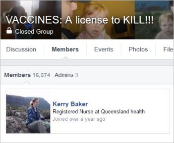 Baker 33 member Vaccines A licence to kill