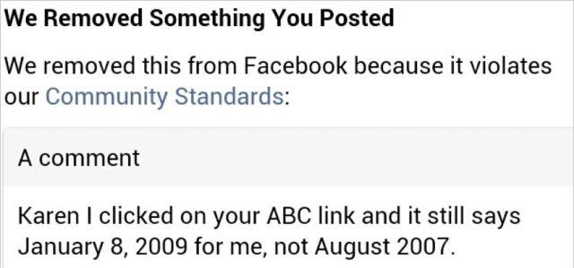 AVN 6649 Meleese banned comment