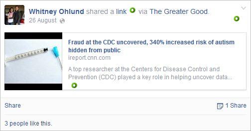 Ohlund 1 vaccines cause autism