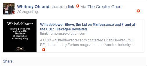 Ohlund 2 cdc fraud etc