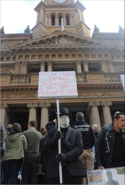 Protest 58 Tenpenny moron