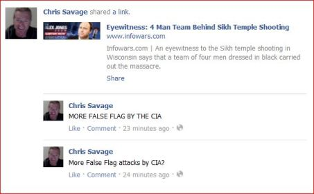 Savage 1 false flag shootings