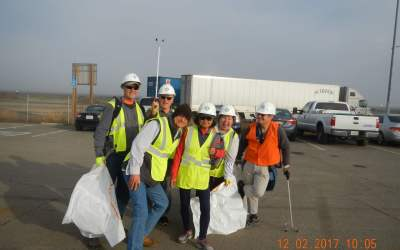 2021/01/09 – Saturday – Highway Cleanup – Atheists and Other Freethinkers with SacFan!