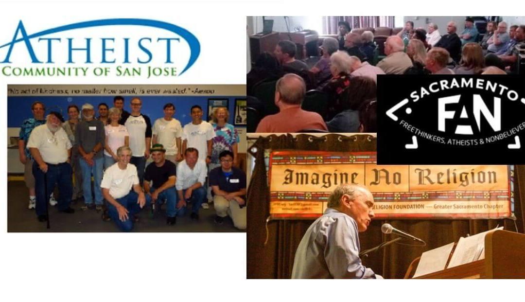 Image composite sacfan and san jose atheists