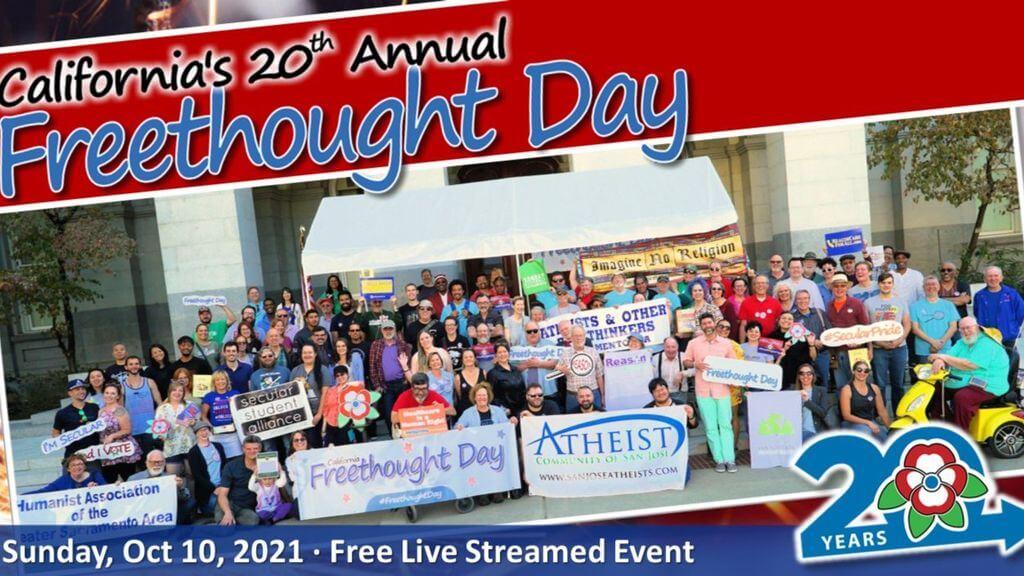 California Freethought Day 2021 | Sunday 2021-10-10