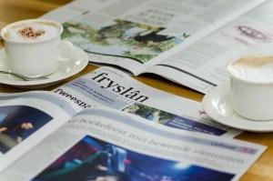 news, newspaper, magazine, coffee,