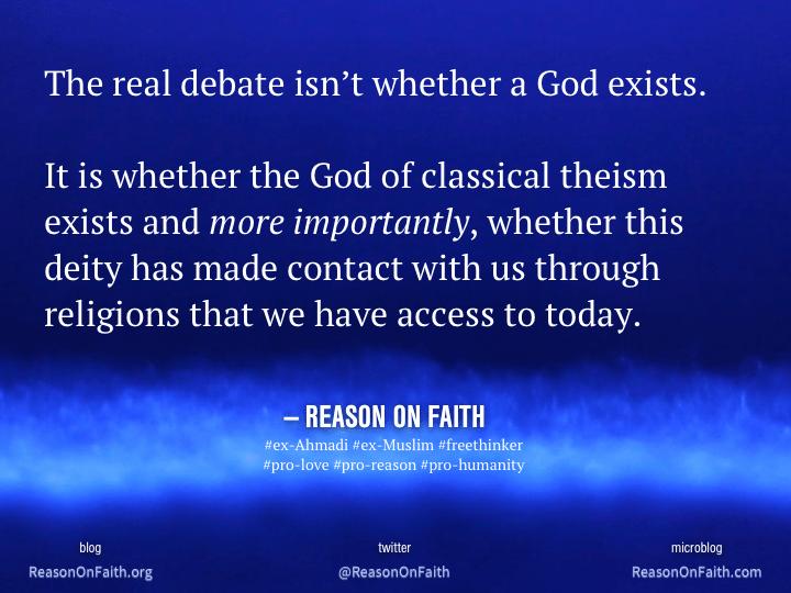 My Beliefs: A Treatise | Reason on Faith