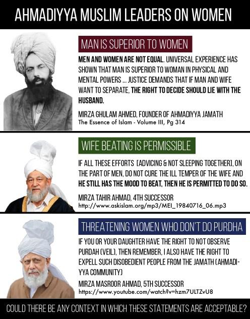 Ahmadiyya Muslim Leaders on Women