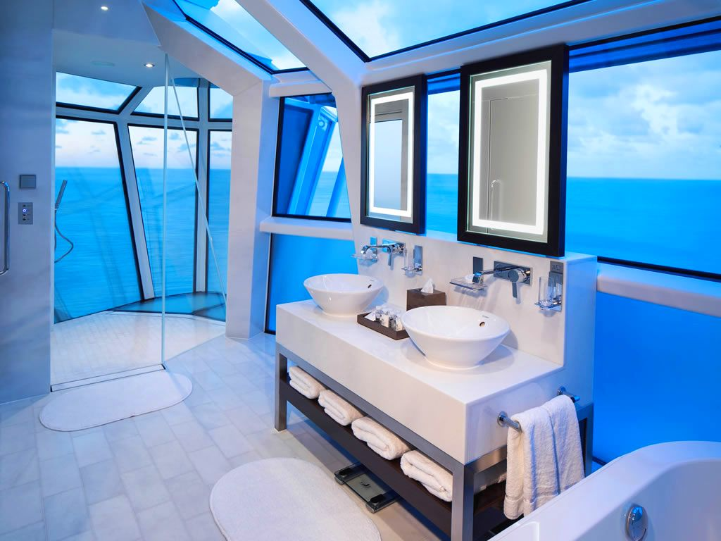 The Top Luxury Cruise Ship Suite Bathrooms