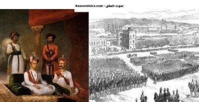 رسمة للهند في اثناء الغزو الاسلامي