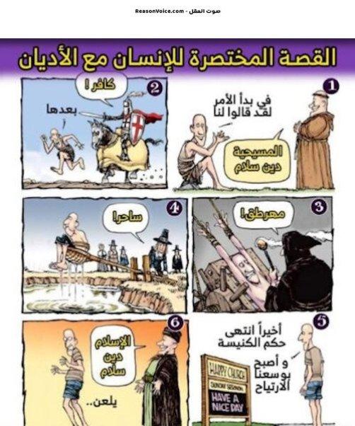قصة الانسان مع الاديان