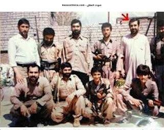 نوري المالكي اثناء جهاده ضد العراق